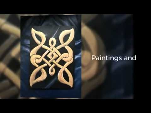 A video promoting my Art based on the fushion of Islamic and Celtic Knot work.