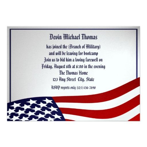 15 best Military Going Away Invitations images – Farewell Party Invitation Email