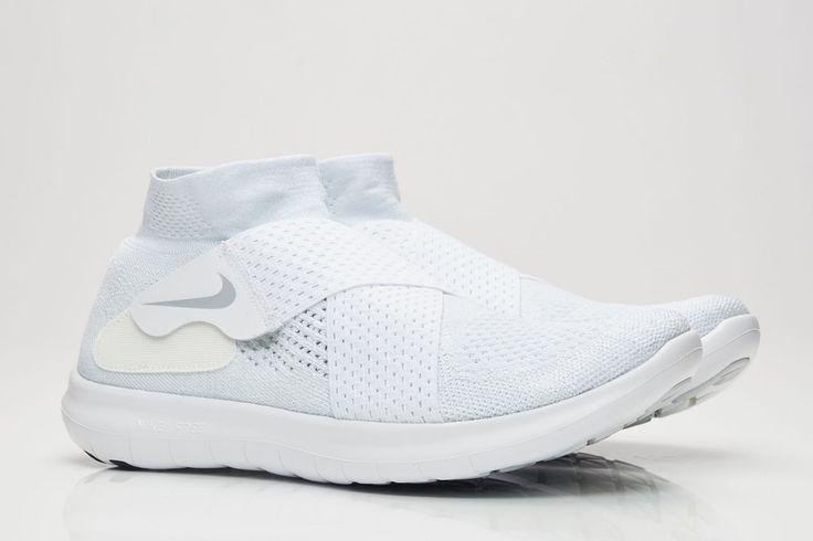 Nike Free Run Motion Flyknit 2017 in 'White/Grey' - EU Kicks: Sneaker Magazine