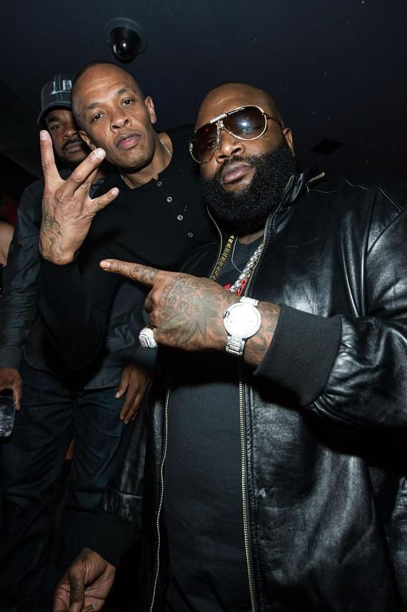 Dr. Dre and Rick Ross at Marquee Nightclub on Jan 10, 2013 http://celebhotspots.com/hotspot/?hotspotid=24797=1