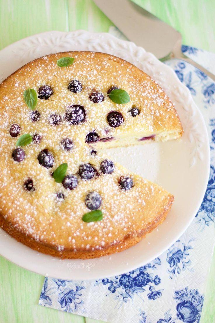 yaban mersinli cheesecake kek1