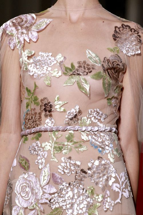 Valentino fall 2011 couture details