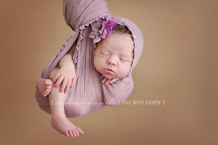 newborn inspiration. Hanging shot.  https://www.facebook.com/Stephaniekrupickaphotography
