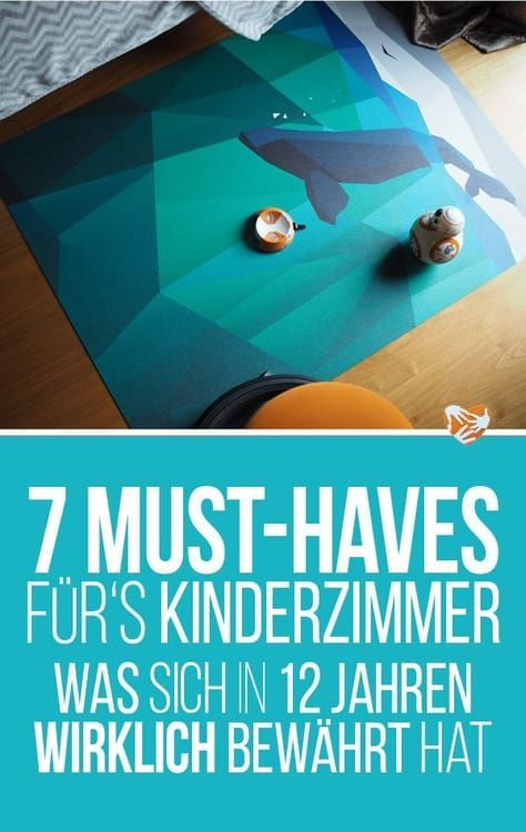 7 Must-haves fürs Kinderzimmer