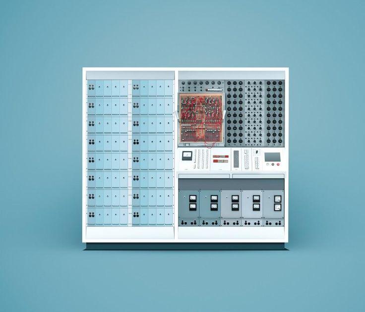 En vidunderligt pastelfarvet guide til de ældste computere | VICE | Denmark