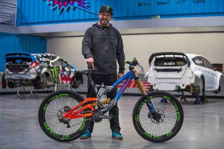 Ken Block's Custom Specialized Demo DH Bike