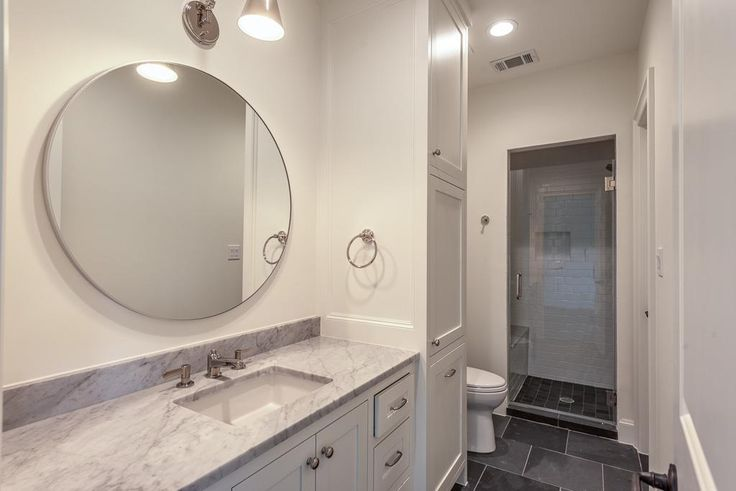 3755 Childress Houston, TX 77005: Photo Great secondary bedroom on the 3rd floor with private bath offering Carrera marble counters and walk-in shower..