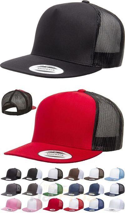 e99b7dc9c9f271 Hats 52365: Yupoong® Classic Trucker Mesh Hat Blank 5 Panel 6006 6006T  6006W Flex Fit Cap -> BUY IT NOW ONLY: $20.85 on #eBay #classic #trucker # blank # ...