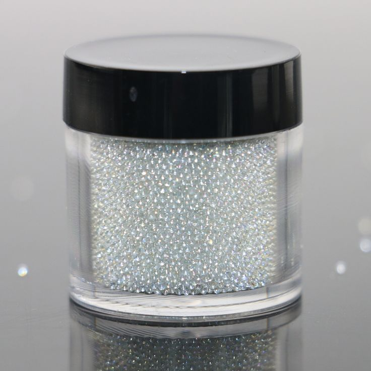 Wholesale New Arrivals 0.6-0.8mm 0.8-1mm 15g/jar Clear AB Caviar Mini Glitter Beads Manicures Decoration Nail Art Rhinstone DIY * Clicking on the VISIT button will lead you to find similar product
