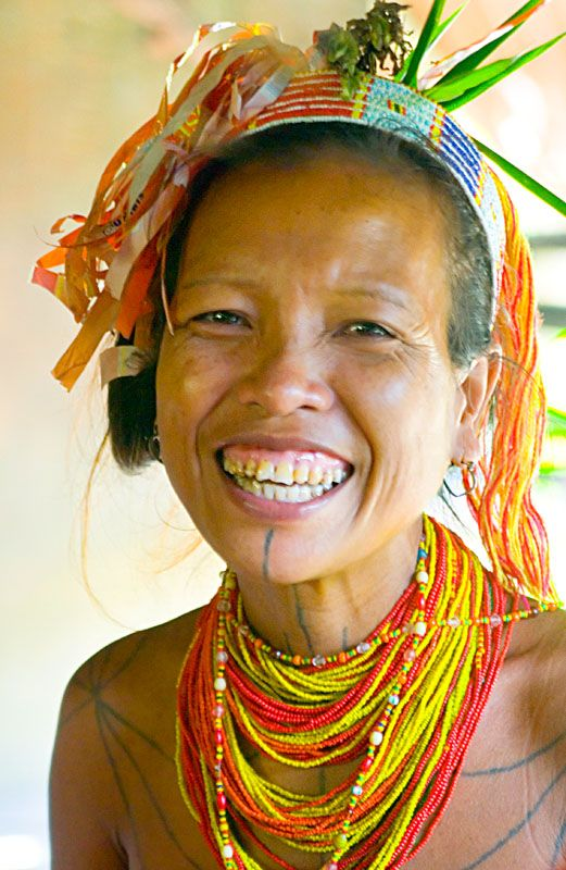 Mentawai Shaman's Wife - Siberut Island, Sumatera Barat