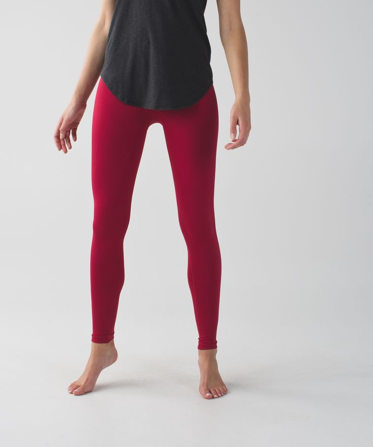 These yoga tights are engineered with zoned compression to