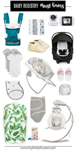 Baby Registry Must Haves Baby planning Pinterest Baby registry - baby registry checklists