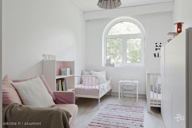 Myytävät asunnot, Vanha Hirvensalontie 4, 20810 Turku  #oikotieasunnot #koti #home #lastenhuone #kidsroom