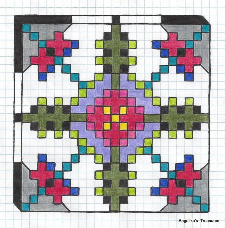 1000 Images About Graph Paper Art Drawings