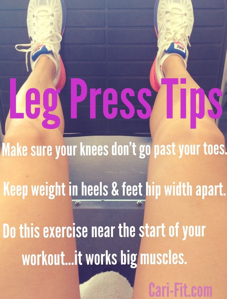 Tips For Using The Leg Press Machine September 5, 2014 —Leave a comment