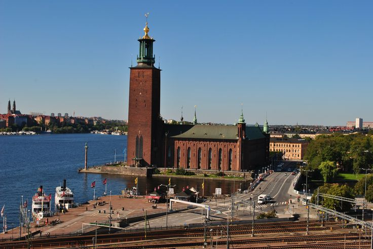 Stockholm City Hall is our next door neighbor. http://www.sheratonstockholm.com/