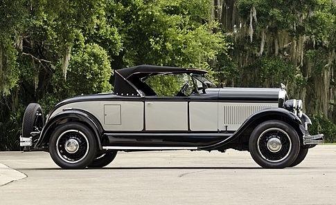 1928 Chrysler Model 72 Roadster - (Chrysler Corp Auburn Hills, Michigan, 1925-present)