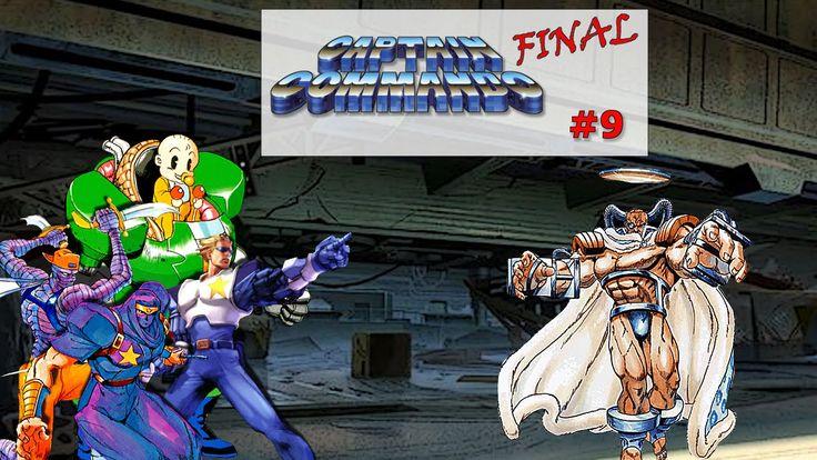 Captain Commando Stage#9 Callisto and Ending|Old Fashion Gamer|  ¡Retro!...