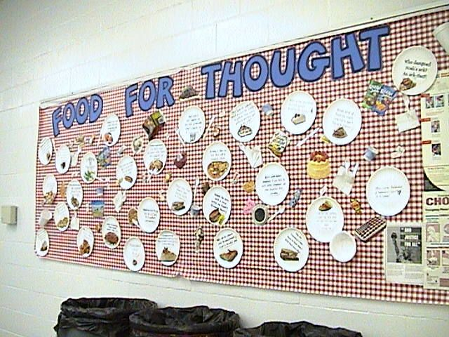 school cafeteria bulletin boards | click here to download a word file