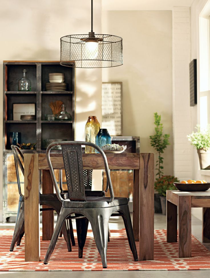 A Modern Farm Table That Provides A Solid Foundation In Any Decor.  HomeDecorators.com. Chunky Dining ...