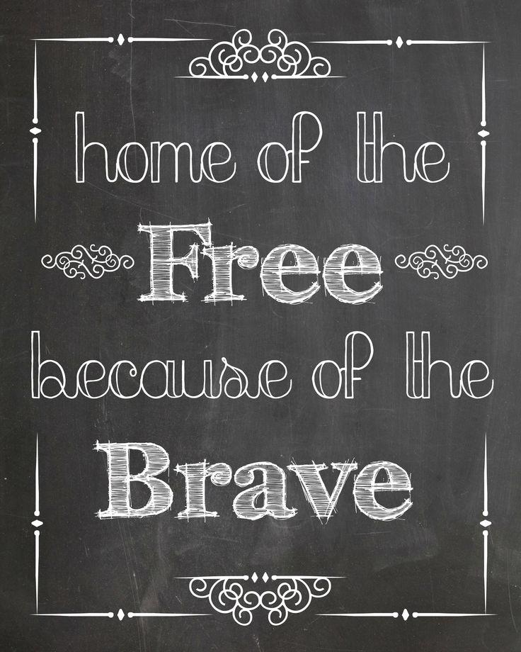 chalkboard+art | Free Memorial Day Chalkboard Art Printable | Handmade Is Better