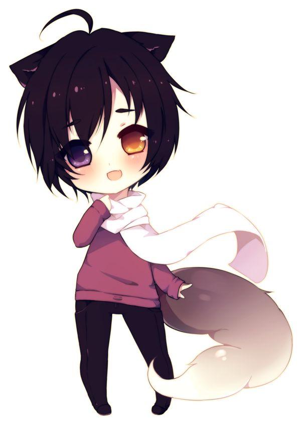 Chibi Wolf Boy
