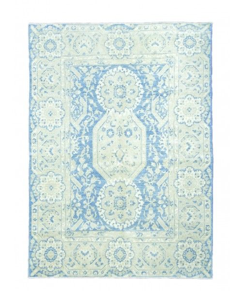 "New Handmade Afghani Wool Rug NMC11113-Design# 2533, Size- 5'-2"" x 7'-4""  #livingroom #diy #handmade #best #cleaning #modern #design #runner #print #carpet #rugs #flooring #office #home #decoration #bedroom"