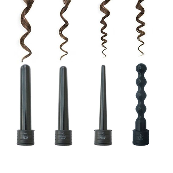 Temperature 4 in 1 Hair Curler Wand Set Hair Curling Irons