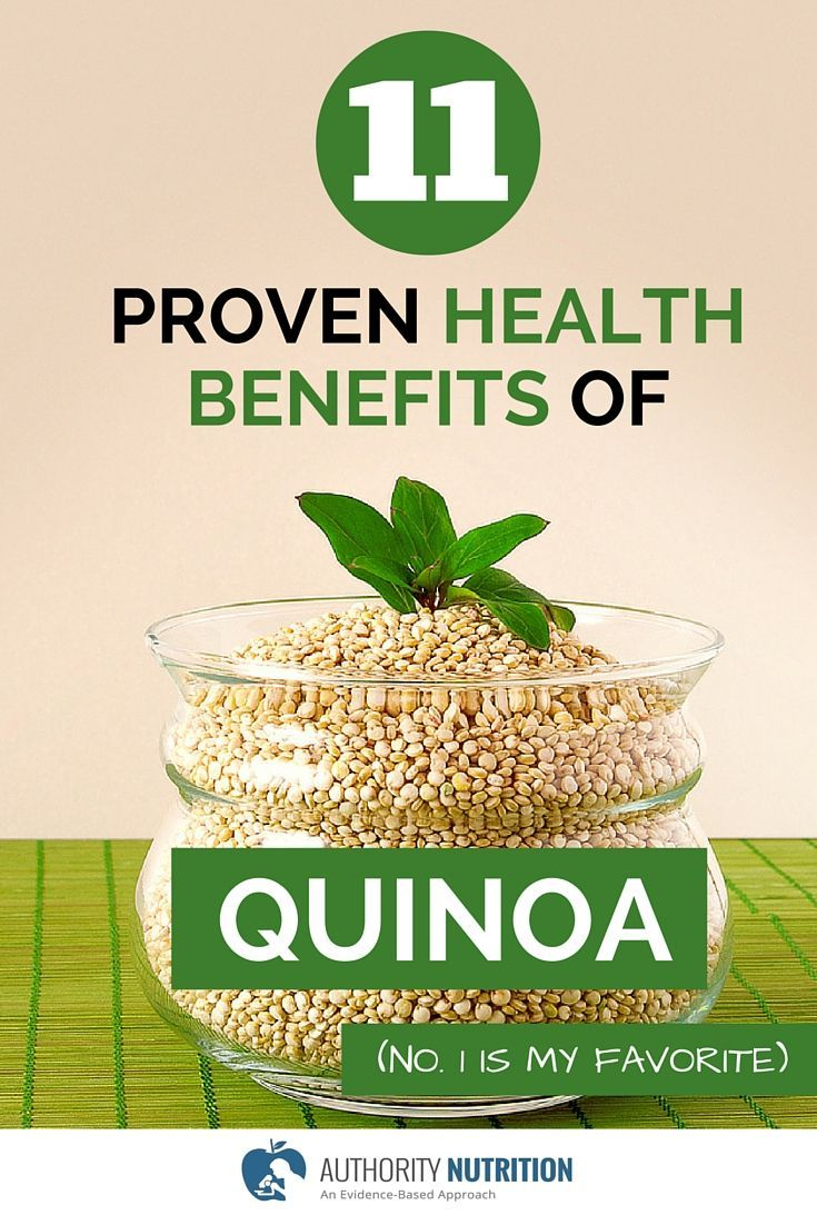Quinoa is among the healthiest and most nutritious foods on the planet. Here are 11 proven health benefits of quinoa, supported by science: http://authoritynutrition.com/11-proven-benefits-of-quinoa/