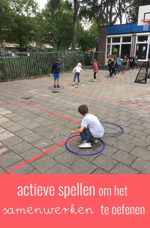 Op zoek naar leuke en actieve spellen voor de hele klas om het samenwerken te stimuleren? Ik geef in deze blog leuke tips en ideeën.