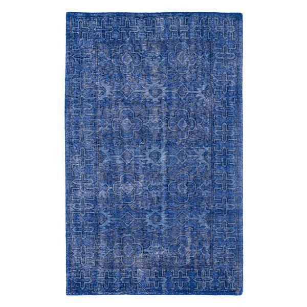 Kaleen Restoration Collection Blue Rug - Houzz - $76.99 - domino.com