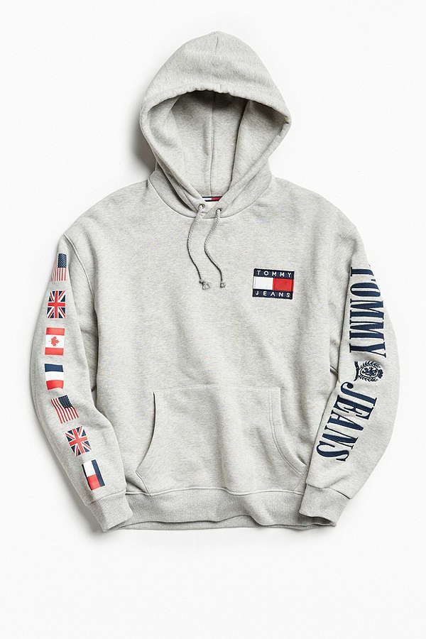 06cb57360062 Slide View  1  Tommy Hilfiger  90s Hoodie Sweatshirt   Outfit ideen ...