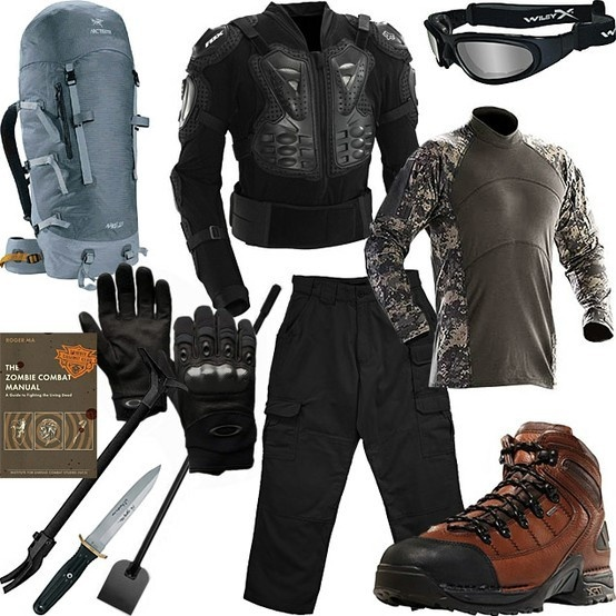 zombie survival gear | Recipes to Cook | Pinterest