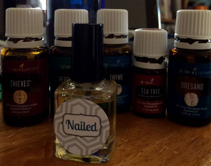 Nailed, Essential Oil Blend, Toenail, Fungus, Thick, Hard, Discolored, Nails, Toe, Nail Oils, Antifungal, Antibacterial, Oil Brush, Bottle by EssentiallyPaperShop on Etsy