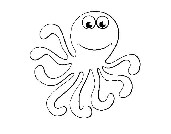 83 Free Animals Octopus Coloring Pages For Preschool