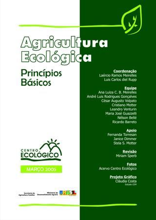 Agricultura ecologica cartilha