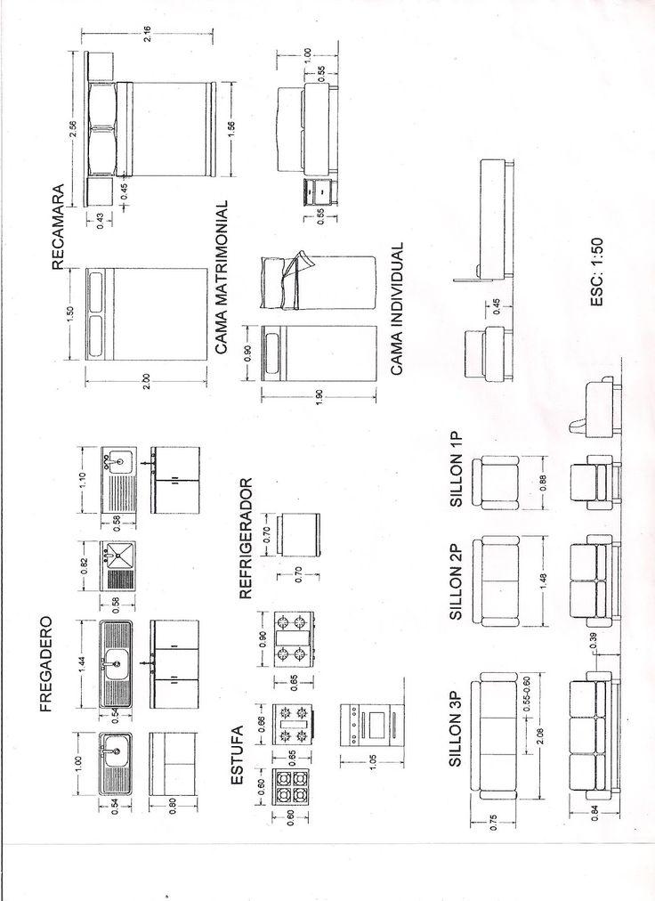 M s de 1000 ideas sobre planos de casas de madera en for Medidas cocina restaurante