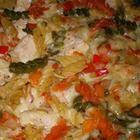 Recept printen Ovenschotel met pasta, kip en Zwitserse kaas recept - Recepten van Allrecipes