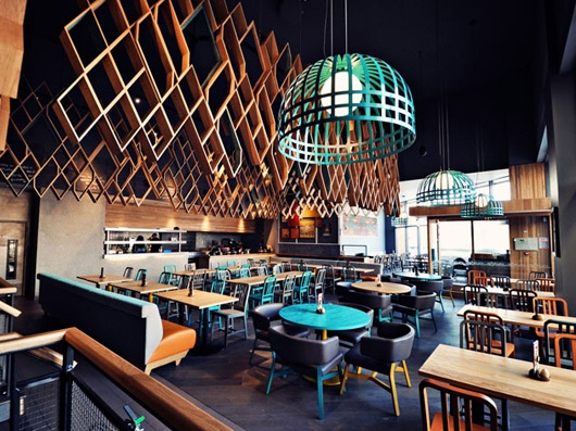 Nandos restaurant