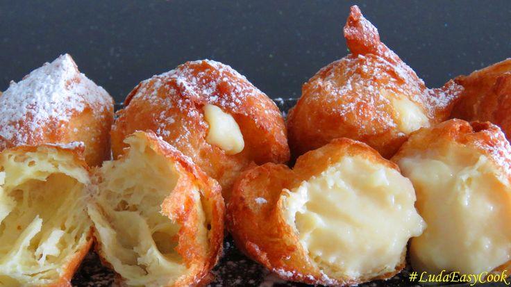 ♥ Французские ПОНЧИКИ из заварного теста HomemadeBeignets choux bánh Quả...