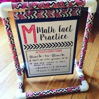 Miss 5th: DIY Mini Anchor Chart Holders- detailed directions with plenty of photos that tell you exactly what you need to purchase and the steps to make a mini anchor chart holder!