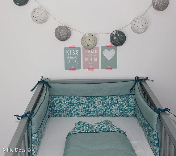 Les 25 meilleures id es de la cat gorie tuto tour de lit - Tuto tour de lit bebe ...