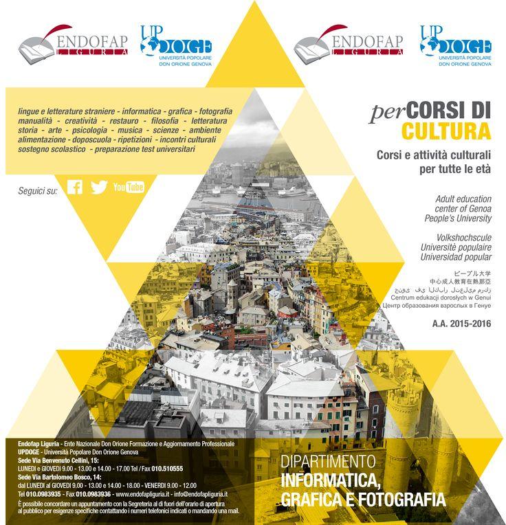 Brochure informativa, Endofap, Genova