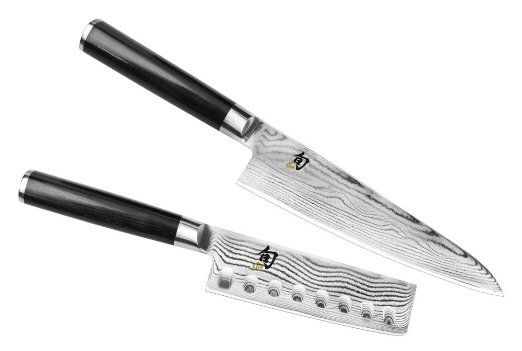 Amazon.com: Shun Classic 2-piece Asian Chef's Knife & Nakiri Set: Kitchen & Dining