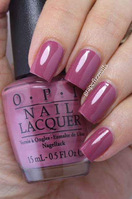 OPI Just Lanai-ing Around from the Hawaii Collection on grape fizz nails