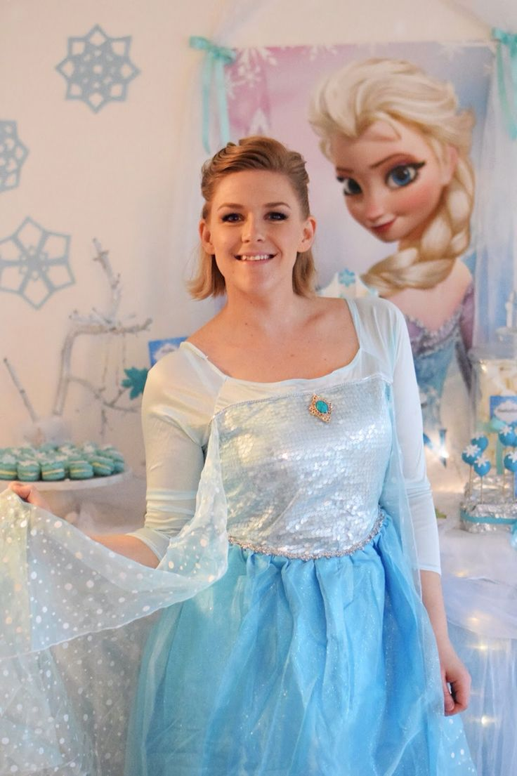 Adult Elsa dress frozen party