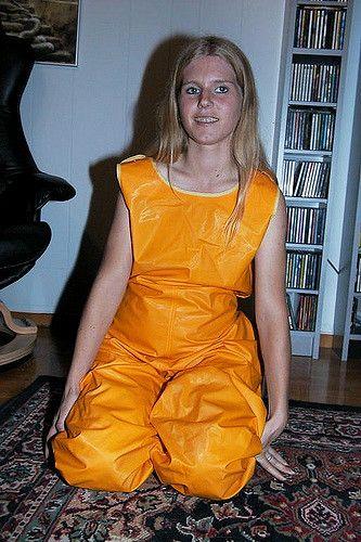 raingear-0020 | Proper wear indoors for a messy slime chick | galontjejen | Flickr