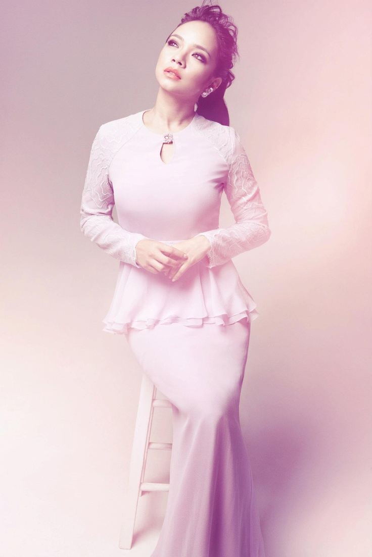 peplum dress by Innai Red #wedding #nikah