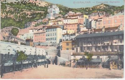 Krill & Martin Postcard - Gibraltar, Casemate Barracks