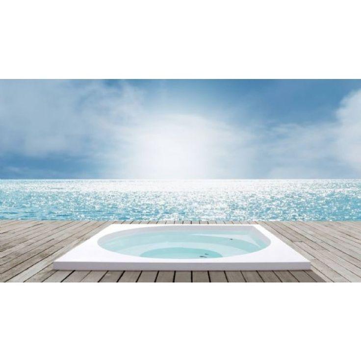 Drop Ulkoallas Design kylpytynnyri